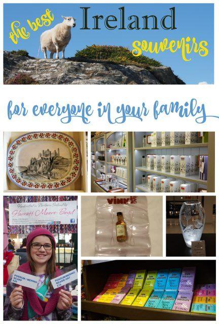 The best Ireland souvenirs for everyone in your family. Ireland vacation tips