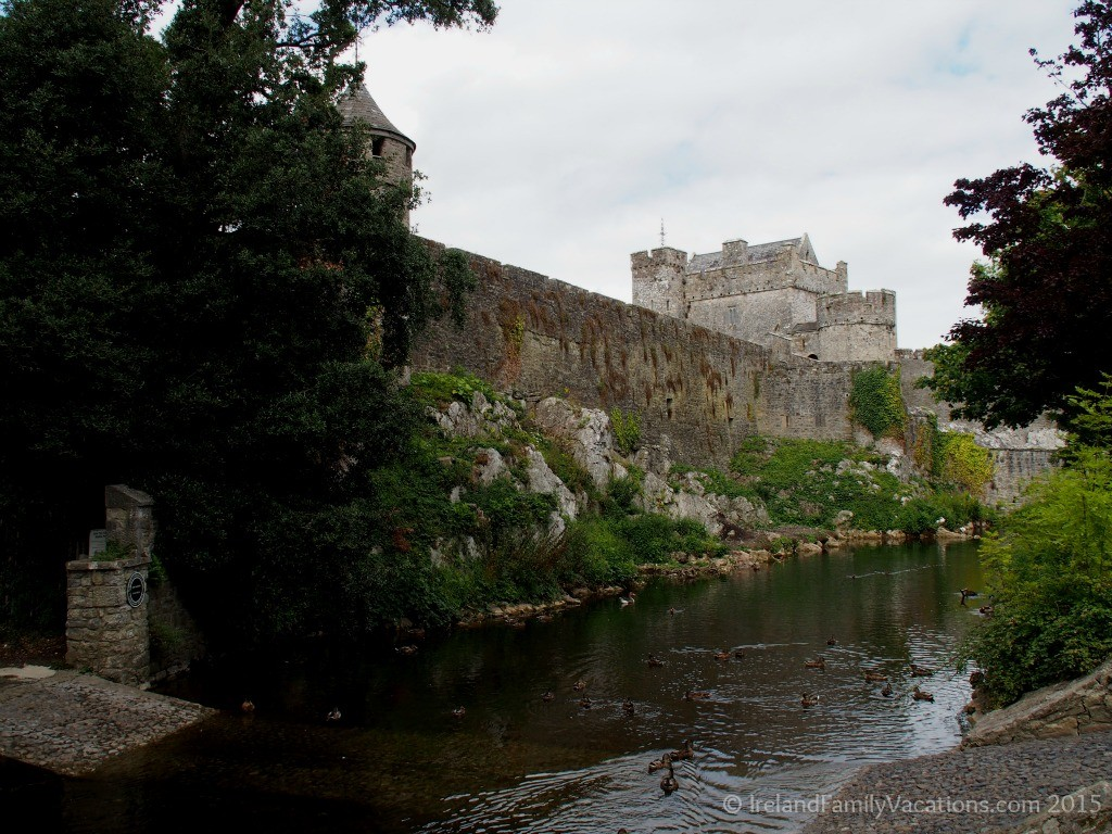 Cahir Castle on the River Suir