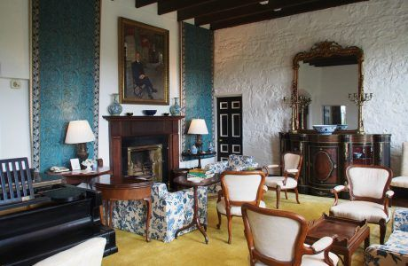 Drawing Room at Knappogue Castle