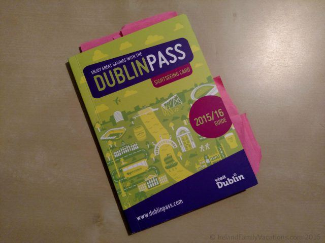 Dublin savings with Dublin Pass. Dublin with kids. Ireland travel tips.