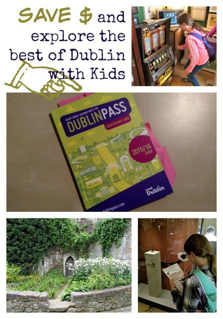 Save money and explore the best of Dublin with Kids. Dublin Pass. Ireland travel tip