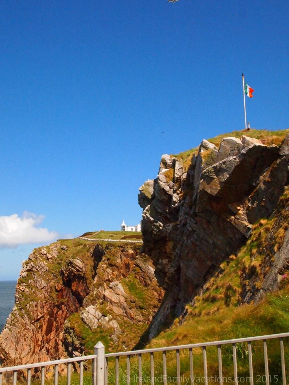 Irish Flag at Fort Dunree