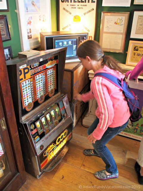Hands on history at the Little Museum of Dublin. Dublin with kids. Ireland travel tips.
