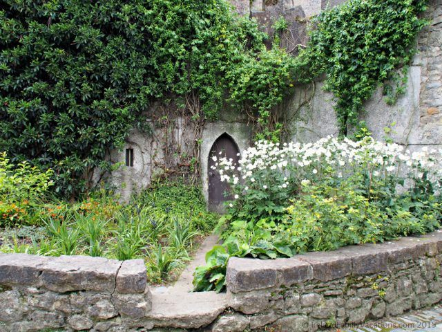 Malahide Castle's hidden door. Dublin Pass. Dublin with kids.