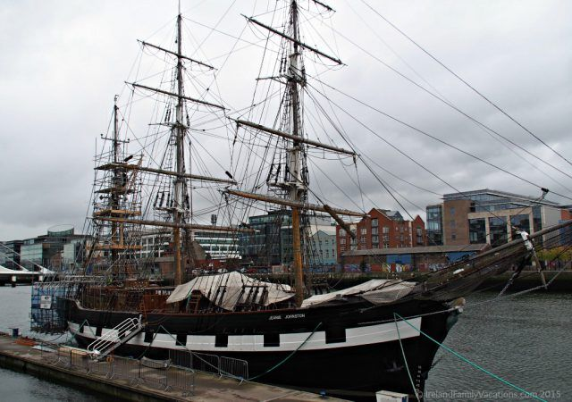 Jeanie Johnston Tall Ship. Dublin with kids. Ireland travel tips.