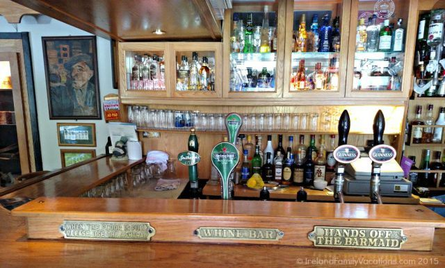 Kilshanny House bar, County Clare. Burren Food Trail. Ireland vacation tips.