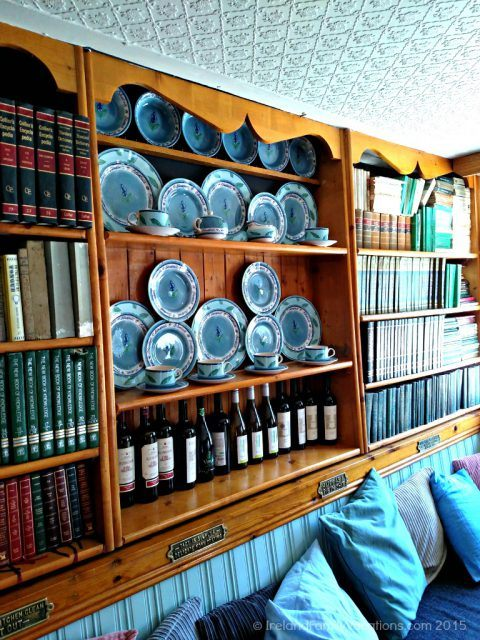 Kilshanny House snug, County Clare. Burren Food Trail. Ireland vacation tips.