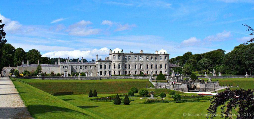 Powerscourt House and Gardens, County Wicklow, Ireland. Ireland vacation tips.