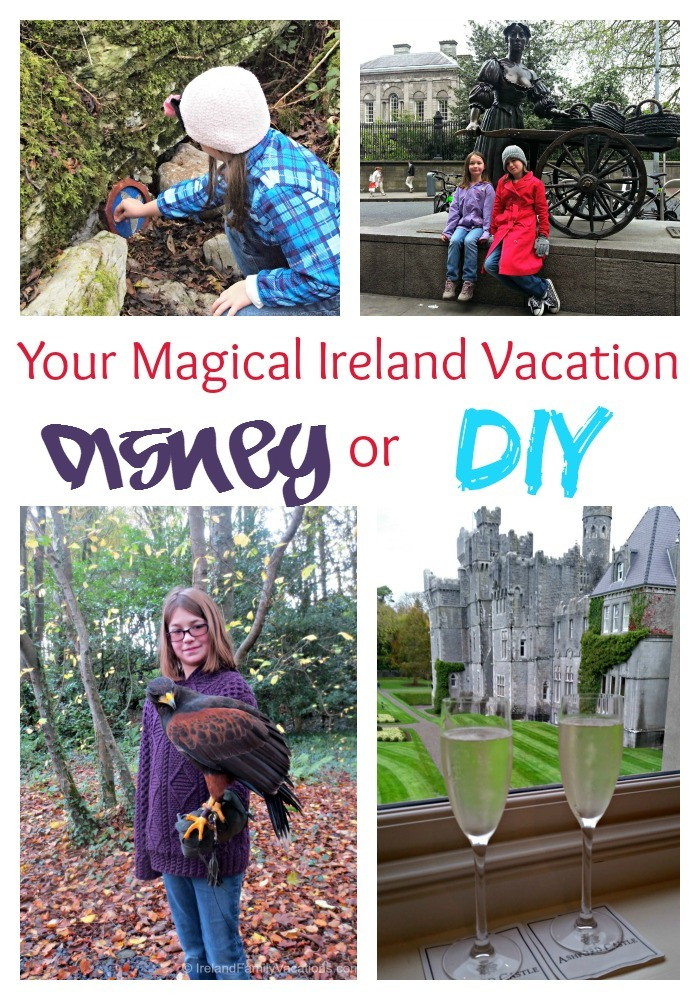 Should you do a Disney Ireland vacation? Or DIY? Side by side comparison. Ireland vacation tips. Ireland family vacation.