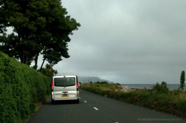 Following Squireens along the Causeway Coastal Route. Emerald Heritage, Glens of Antrim, Northern Ireland