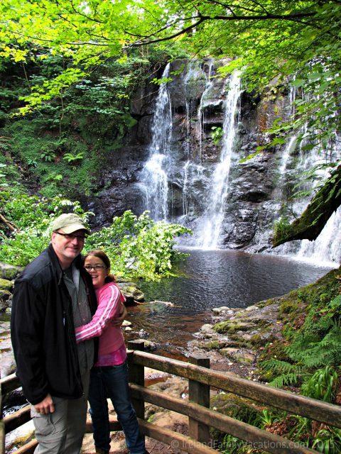 Glenariff Waterfall, Glens of Antrim, Northern Ireland. Ireland vacation | Ireland travel tips