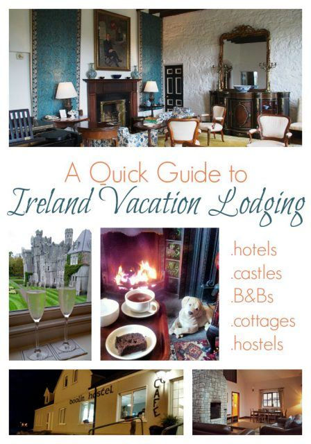 Tips for finding your best Ireland vacation lodging. Ireland travel tips | IrelandFamilyVacations.com