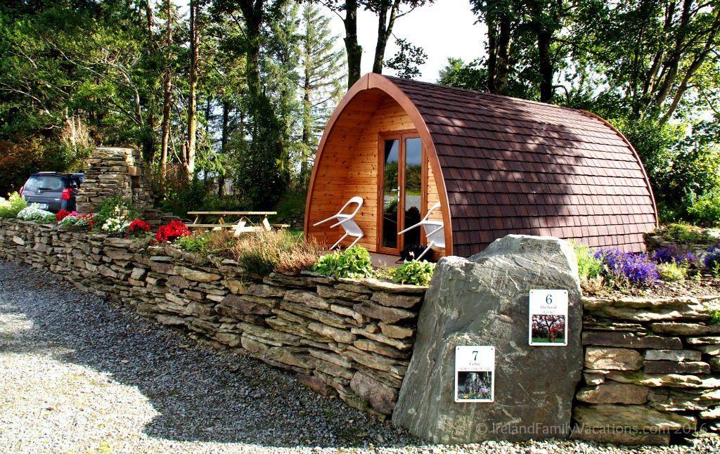 Luxury Pod at Top of the Rock Pod Pairc, West Cork, Ireland. Camping in Ireland | Ireland travel tips | Ireland vacation | IrelandFamilyVacations.com