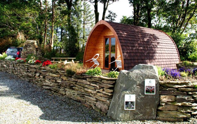 Traveling in Ireland Blab: Pod Camping in West Cork with Guests David & Elizabeth Ross from Top of the Rock Pod Pairc