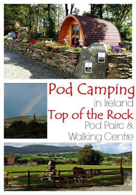 Pod Camping at Top of the Rock Pod Pairc, West Cork, Ireland. Camping in Ireland |Ireland travel tips | Ireland vacation | IrelandFamilyVacations.com