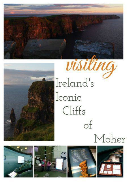 Visiting the Cliffs of Moher. Ireland travel tips | Ireland vacation | IrelandFamilyVacations.com