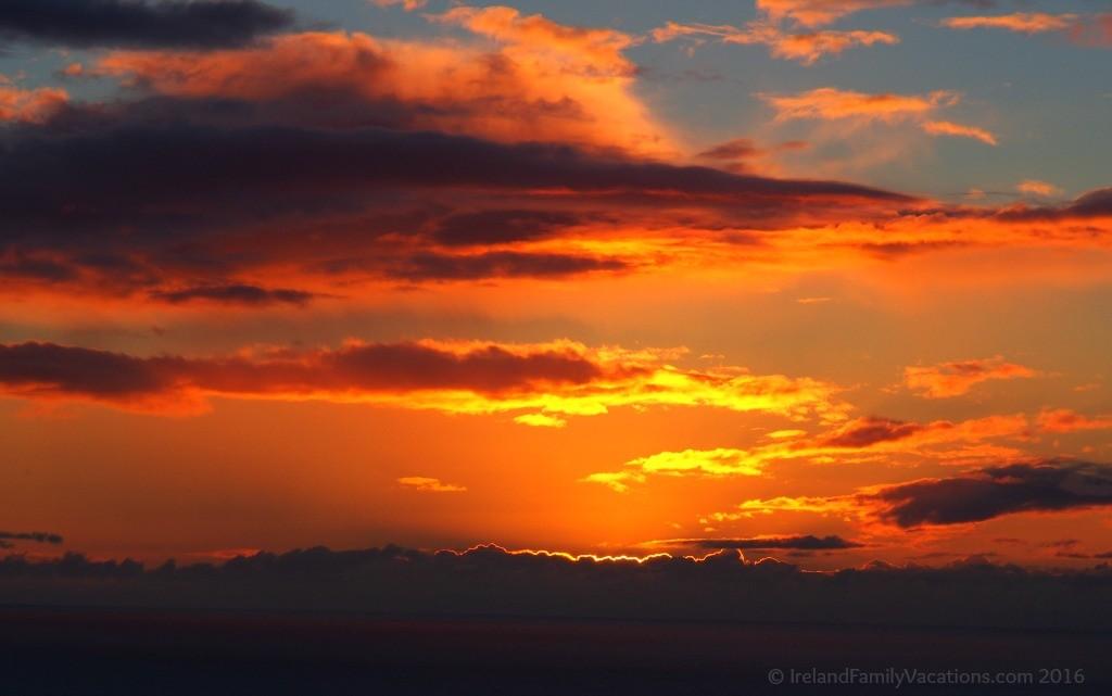 Sunset along the Wild Atlantic Way
