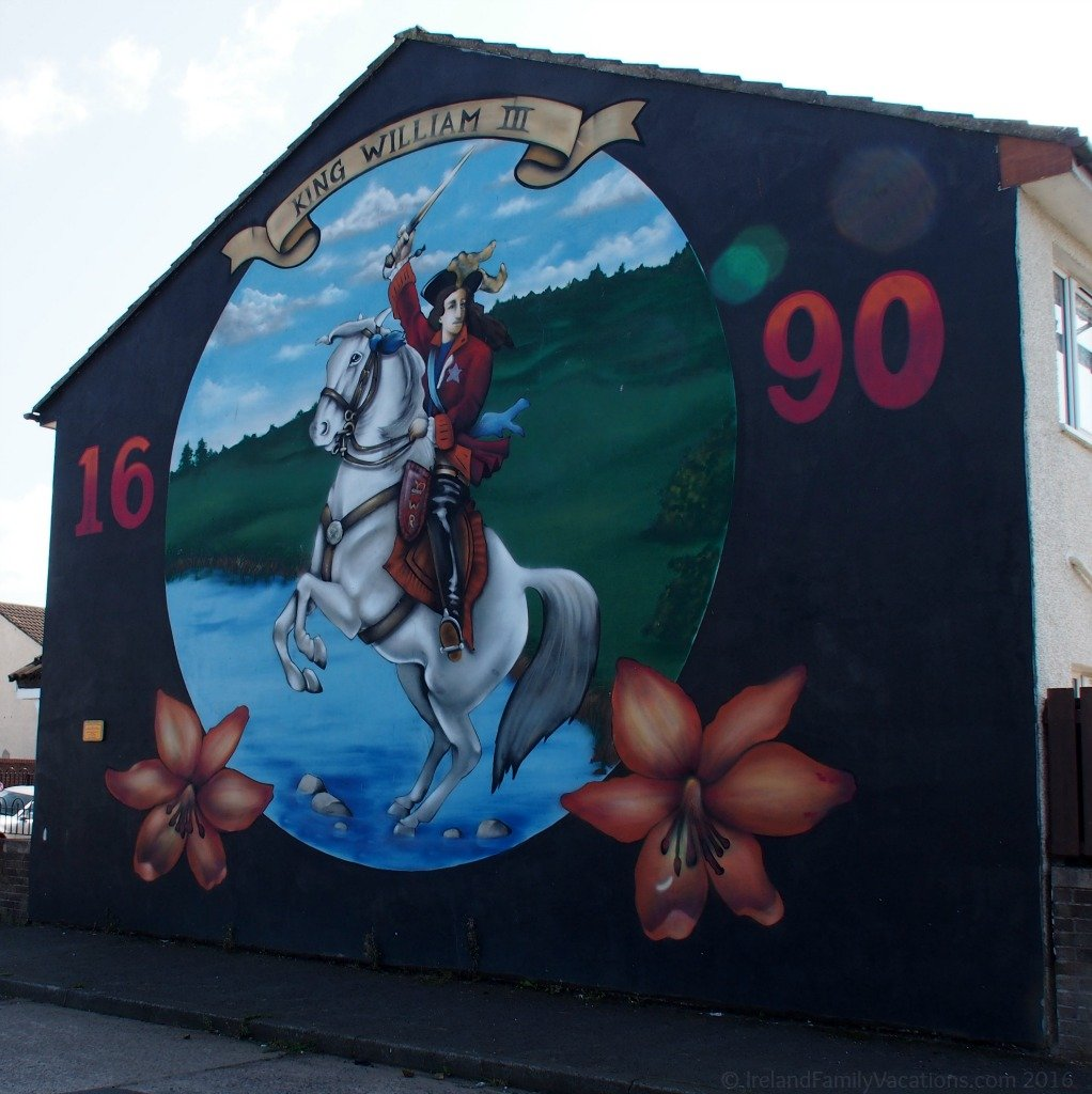 King William III Mural, Belfast, Northern Ireland