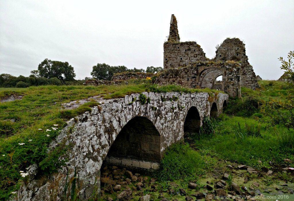 Bridge to Athassel Abbey in Tipperary. Ireland travel tips | Ireland vacation | IrelandFamilyVacations.com