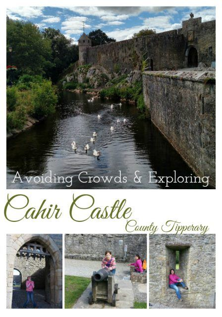 Escape the crowds and explore Cahir Castle - one of the largest castles in Ireland! Ireland travel tips | Ireland vacation | IrelandFamilyVacations.com