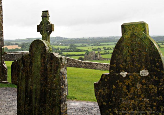 Hore Abbey near the Rock of Cashel in Ireland