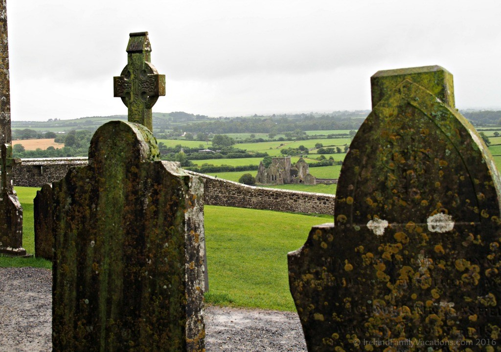 Hore Abbey Viewed from the Rock of Cashel