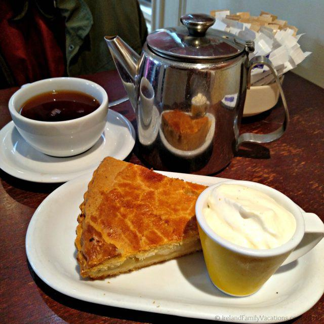 Tea and a treat at the Bake House in Cashel. Ireland travel tips | Ireland vacation |IrelandFamilyVacations.com