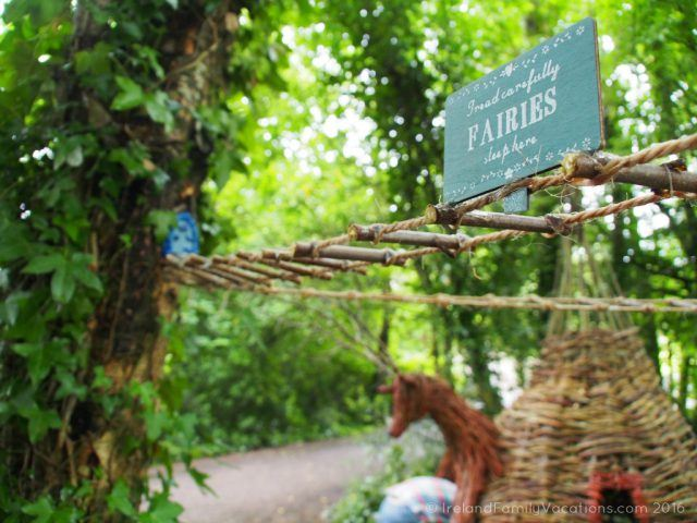 Fairies sleep here! Fairy Forest at Bunratty Folk Park. Ireland travel tips | Ireland vacation |IrelandFamilyVacations.com