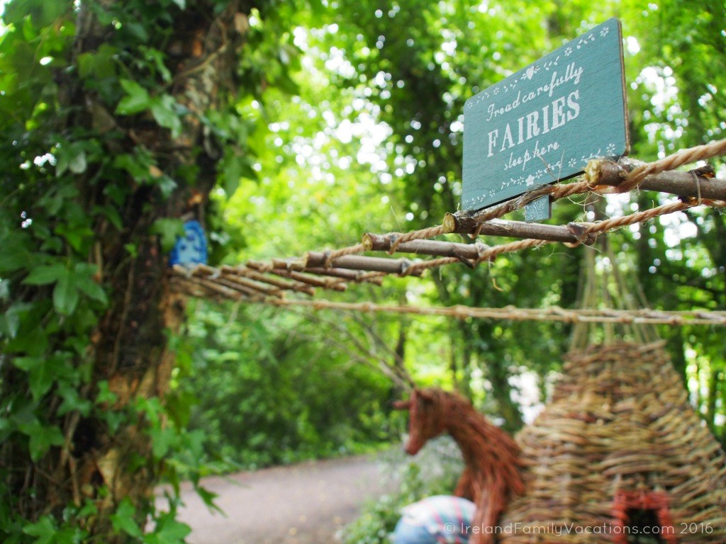Fairies sleep here! Fairy Forest at Bunratty Folk Park. Ireland travel tips