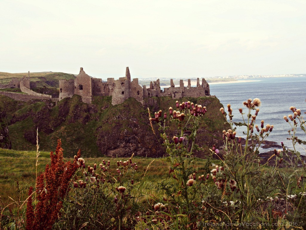 Cliff Top Ruin of Dunluce Castle