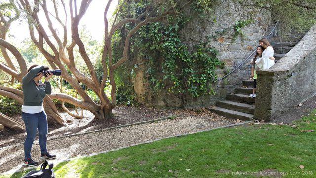 Our Flytographer Aoife, making memories. Ireland travel tips | Ireland vacation | IrelandFamilyVacations.com