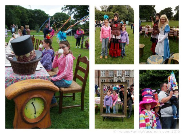 Mad Hatter's Tea at Wells House in County Wexford. Ireland travel tips | Ireland vacation |IrelandFamilyVacations.com