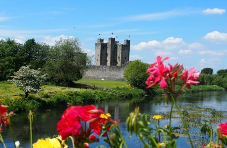 A Sunny Day at Trim Castle