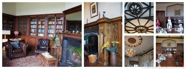 Inside Wells House, County Wexford. Ireland travel tips | Ireland vacation |IrelandFamilyVacations.com