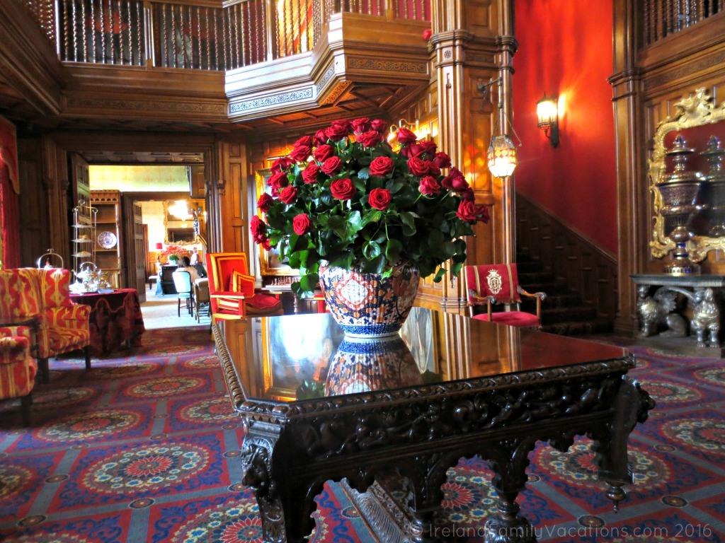 Roses at Ashford Castle