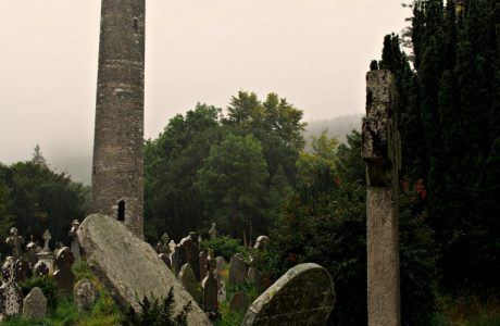 Overcast Day at Glendalough