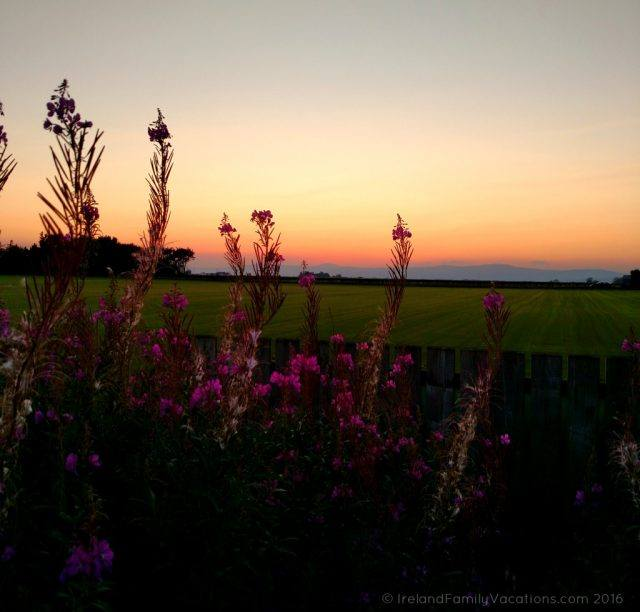 Northern Ireland Sunset in Limavady, County Derry. Ireland travel tips   Ireland vacation   IrelandFamilyVacations.com
