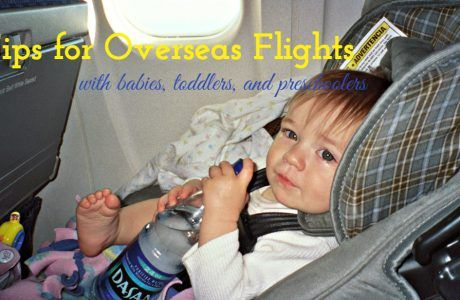 Tips for Overseas Flights with Babies, Toddlers and Preschoolers