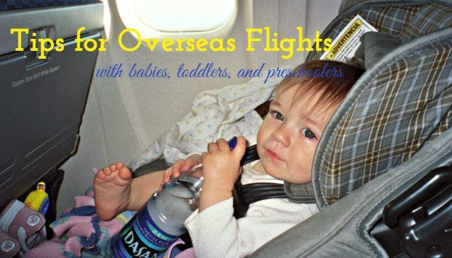Tips for Overseas Flights with Babies, Toddlers, and Preschoolers. Ireland travel tips | Ireland vacation | IrelandFamilyVacations.com