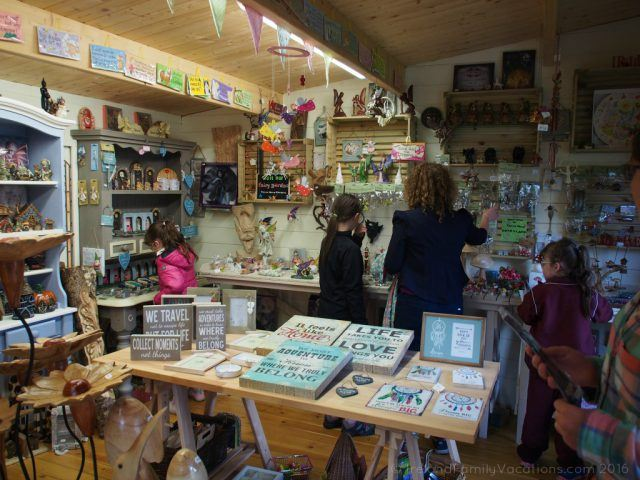 The whimiscal garden shop at Terra Nova. Ireland travel tips | Ireland vacation | IrelandFamilyVacations.com