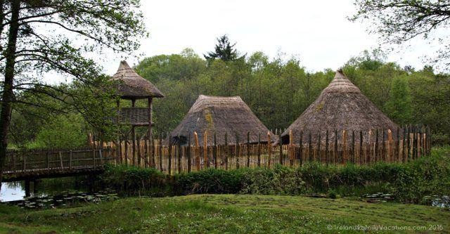Crannog at Craggaunowen
