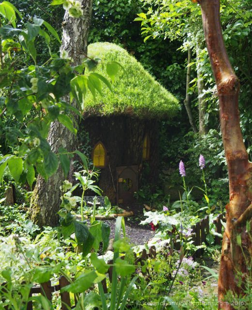 Fairy Cottage at Terra Nova Gardens, Bruff, County Limerick. Ireland travel tips | Ireland vacation | IrelandFamilyVacations.com