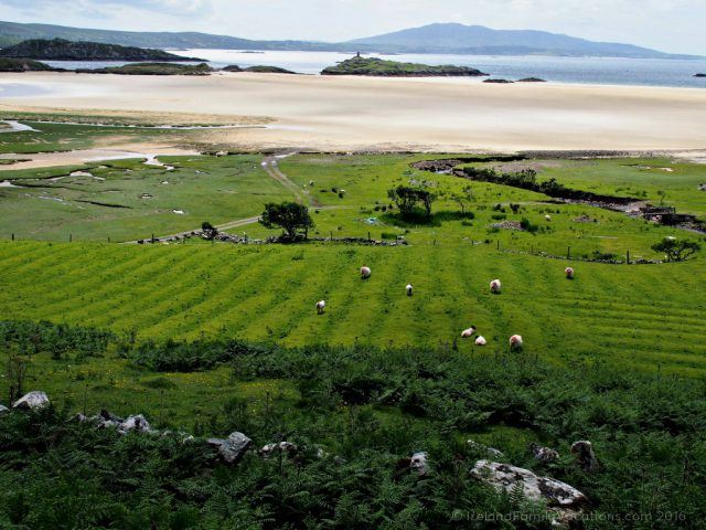 Famine Era Potato Ridges in the Uggool Valley, County Mayo. Ireland travel tips | Ireland vacation | IrelandFamilyVacations.com