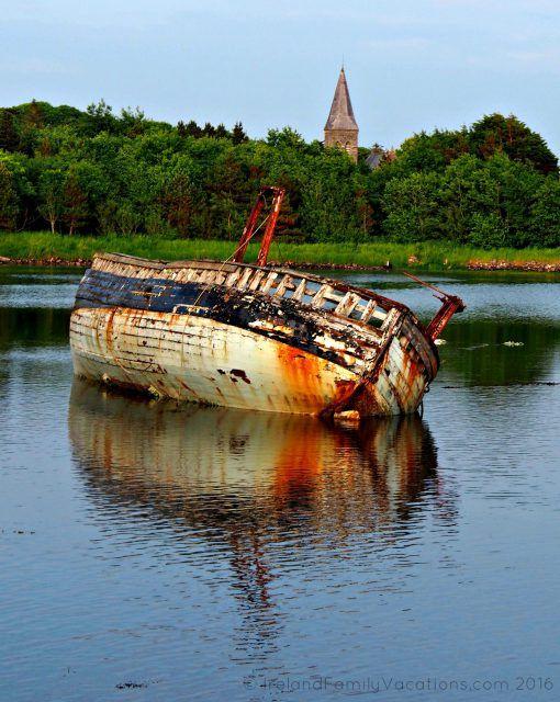 Derelict Boat in Sligo