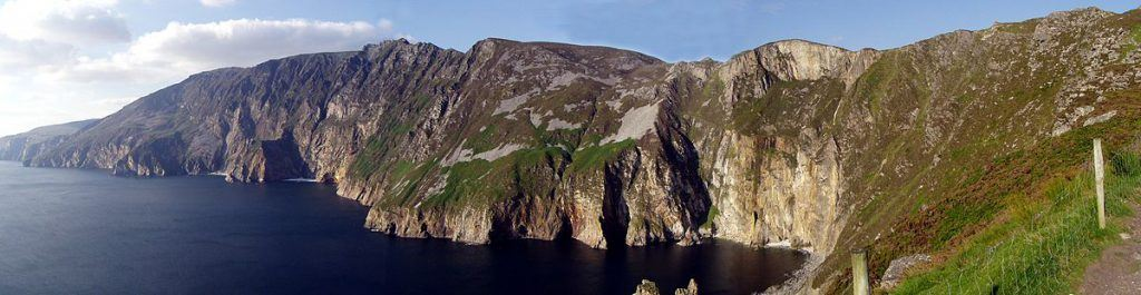 Slieve Leage Cliffs are the highest in Ireland, rising nearly 3x higher than the Cliffs of Moher
