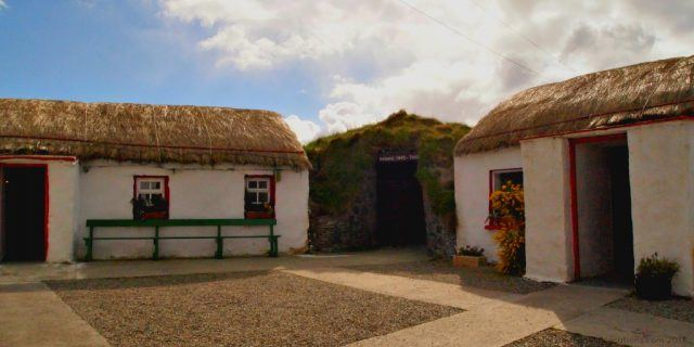 Walk through Ireland's history at Doagh Famine Village in the Inishowen Peninsula. Ireland travel tips | Ireland vacation | IrelandFamilyVacations.com