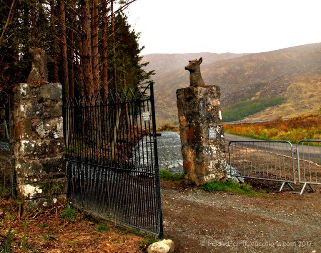 Walking trail in Glenveagh National Park. Ireland travel tips | Ireland vacation | IrelandFamilyVacations.com