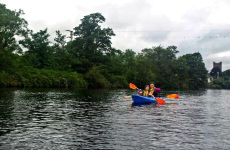 Kayaking on the River Shannon with Mike Jones of My Next Adventure   Traveling in Ireland Podcast Episode 18
