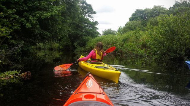 Kayaking in Killaloe along the River Shannon. Ireland travel tips | Ireland vacation | IrelandFamilyVacations.com