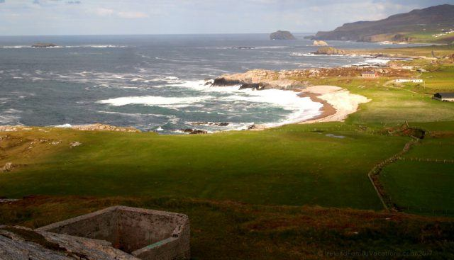 View from Malin Head, Ireland's most northerly point. Ireland travel tips | Ireland vacation | IrelandFamilyVacations.com